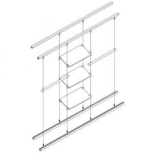 Retail Display: Multi-Rail Installations